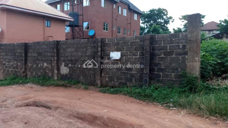 600sqm Fenced Land, Close to Nondon Hotel, New Haven, Enugu, Enugu, Residential Land for Sale