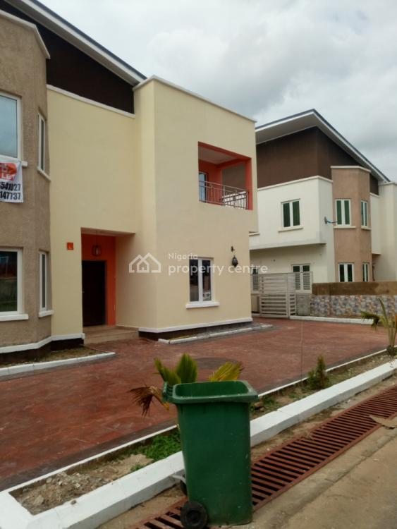 a Tastefully Finished New 4 Bedroom Fully Detached Duplex with 2bq, Lifecamp District, Life Camp, Abuja, Detached Duplex for Rent