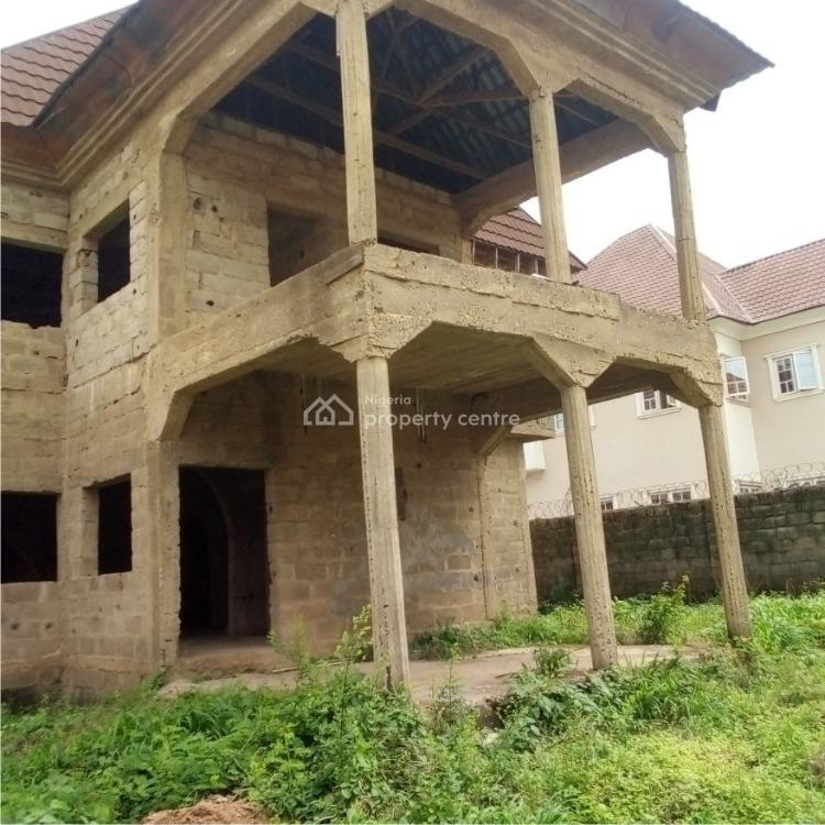 Solid 4 Bedroom Duplex Carcass, Lokogoma District, Abuja, Detached Duplex for Sale