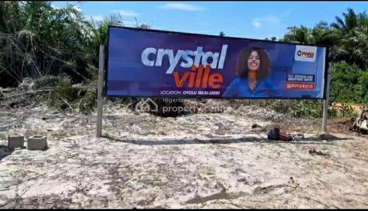 Crystal Ville Estate Land, Otolu Off Lekki Free Trade Zone, Crystal Ville Estate, Ibeju Lekki, Lagos, Residential Land for Sale