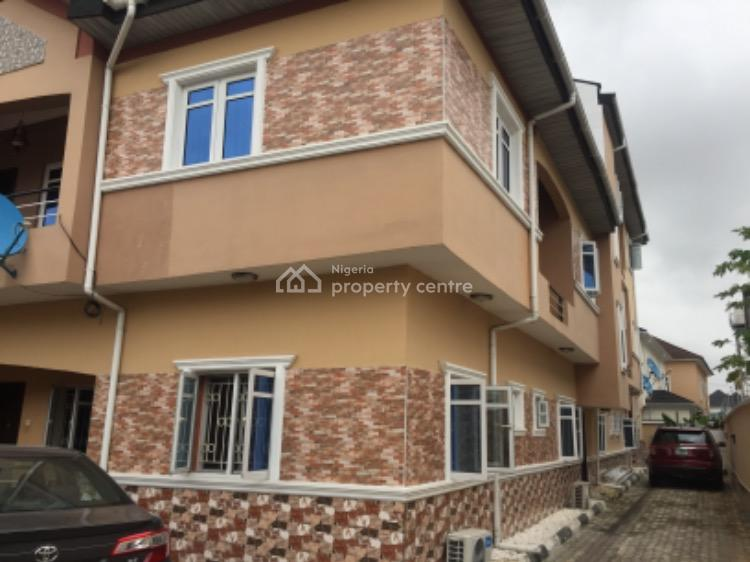 New All Ensuite 3 Bedroom Apartment with Bq, Chevy View Estate, Lekki, Lagos, Flat for Rent