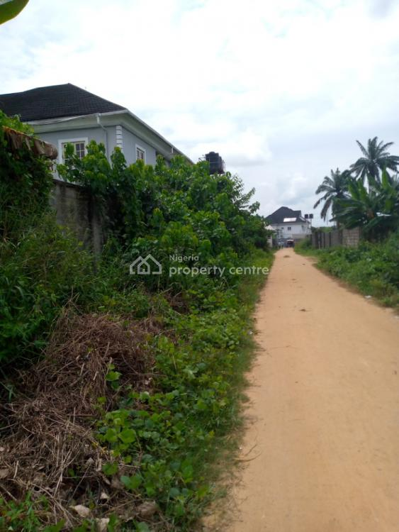 2 Plots of Land in a Well Reserved Estate, Directly Behind Pearl Garden Estate, Eneka, Port Harcourt, Rivers, Residential Land for Sale