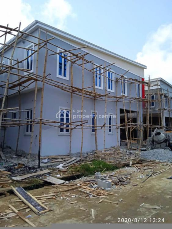 Luxury 4 Bedroom Terrace Apartments, Phase 2 Creek Avenue Court, Ikota, Lekki, Lagos, Terraced Duplex for Sale