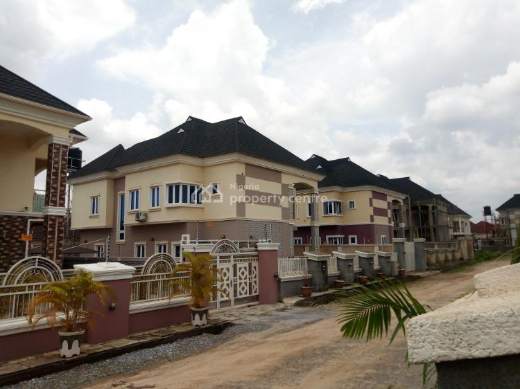 Lovely Fully Detached 5 Bedroom Duplex with Bq, Bright View Estate Airport Road, Sabon Lugbe, Lugbe District, Abuja, Detached Duplex for Sale