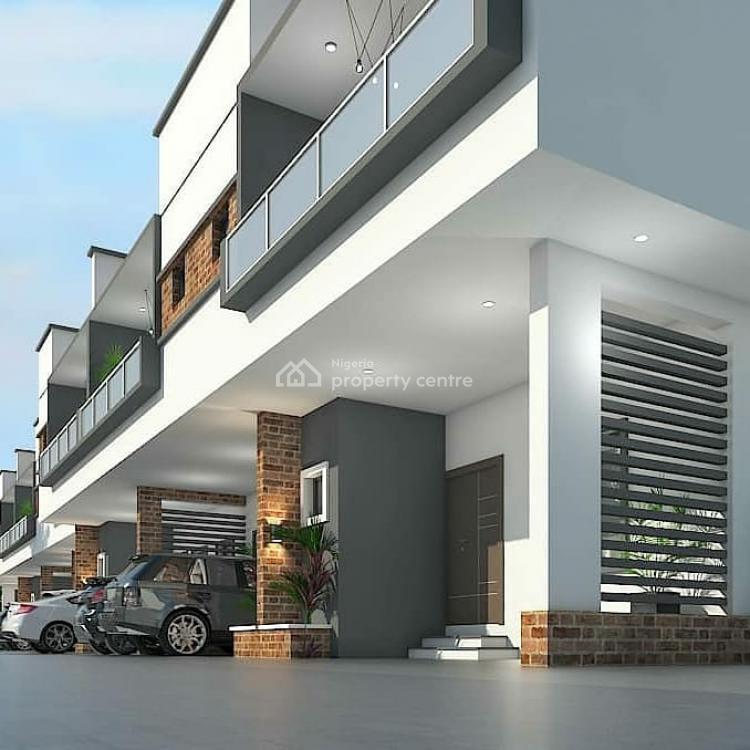 3 Bedroom Terraces Duplexes  with Bq, Genesis Court, Badore, Ajah, Lagos, Terraced Duplex for Sale