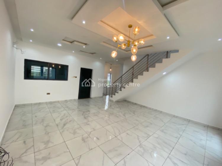 Newly Built 4 Bedroom Terrace with a Bq, Ikate, Lekki, Lagos, Terraced Duplex for Sale