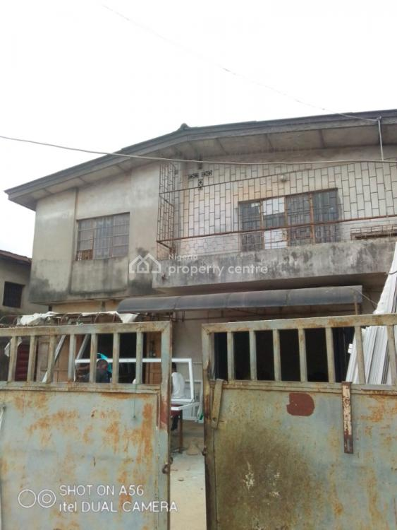 Solid Standard Block of 4 Flat on Full Plot with C of O, Dopemu, Agege, Lagos, Block of Flats for Sale