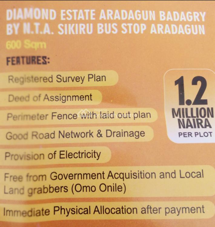 Land, Ashron View Estate Phase 1, Alatise, Ibeju Lekki, Lagos, Commercial Land for Sale