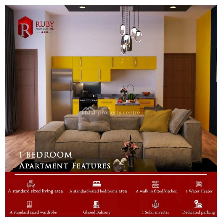 One Bedroom Fully Serviced Apartment, Ruby Apartments, Ologolo, Lekki, Lagos, Mini Flat for Sale