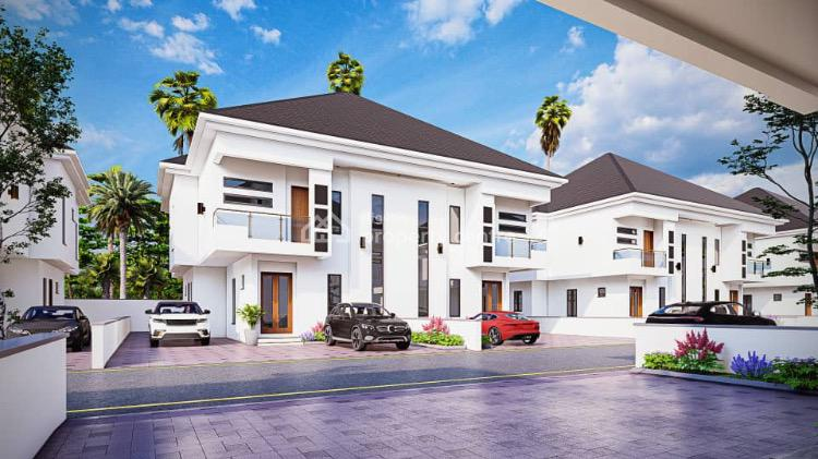 Luxury 4 Bedroom Semi Detached Duplex with a Bq (ongoing Project), Orchid Hotel Road, Lekki Phase 2, Lekki, Lagos, Semi-detached Duplex for Sale