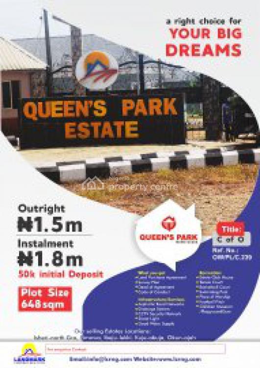 Good Residential Land, Royal Arcade Phase 2, Awoyaya, Ibeju Lekki, Lagos, Residential Land for Sale