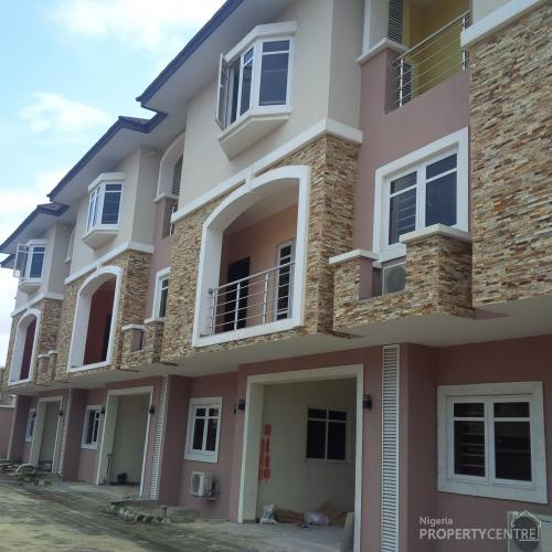 For sale 3 units of ultra modern 4 bedroom terrace duplex for Duplex units