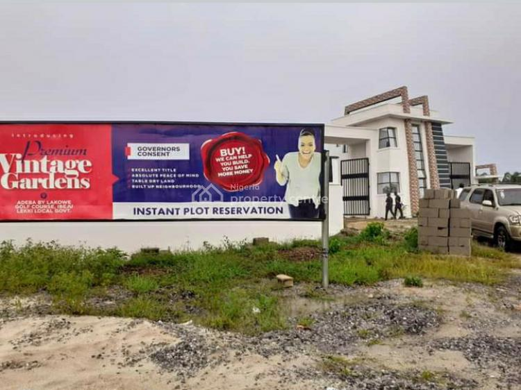 Land, Vintage Garden Estate, Lakowe Golf Course, Adeba, Ibeju Lekki, Lagos, Residential Land for Sale
