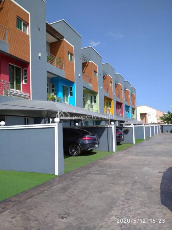 5 Bedroom Duplex with a Room Boys Quarter Swimming Pool in an Estate., Ikeja Gra, Ikeja, Lagos, Terraced Duplex for Rent