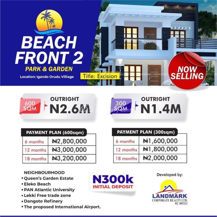 Dry Land, Beachfront Park & Gardens Estate 2, Igando Orudu, Ibeju Lekki, Lagos, Residential Land for Sale
