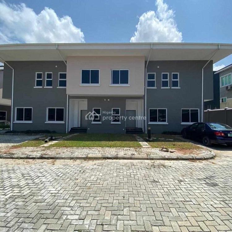 4 Bedroom Semi Detached Duplex with a Room Bq in Earls Court, Earls Court, Ikate, Lekki, Lagos, Semi-detached Duplex for Sale