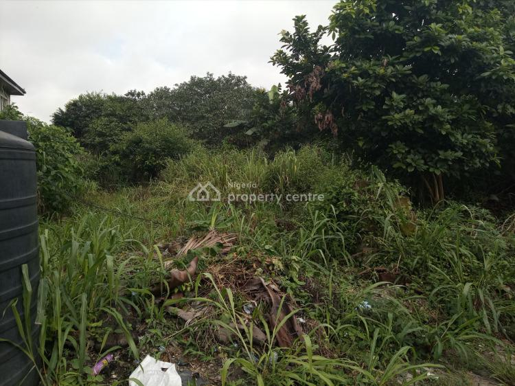 Well Located and Dry Table Surface 2 Plots of Land, King Perekule, Gra Phase 2, Port Harcourt, Rivers, Residential Land for Sale