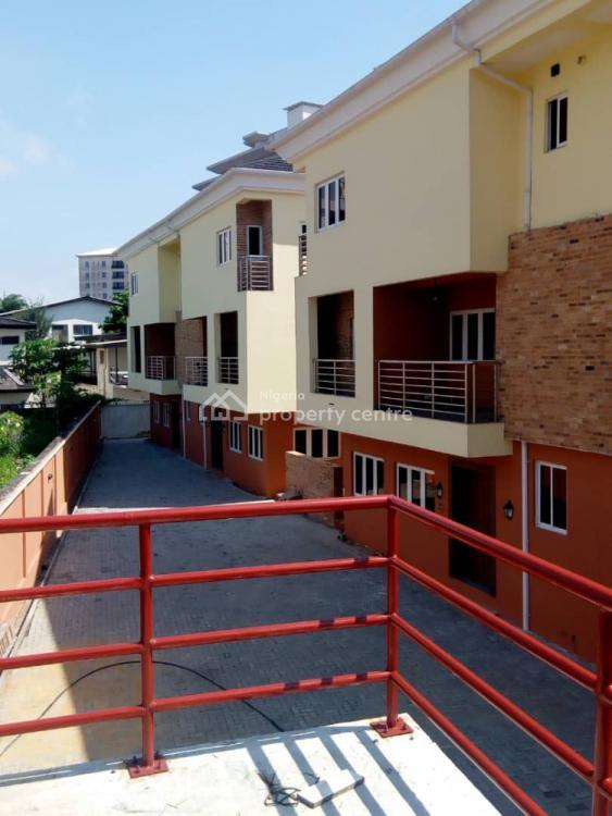 Luxury 4 Bedroom Terrace with Bq, Saint Agnes, Yaba, Lagos, Terraced Duplex for Sale
