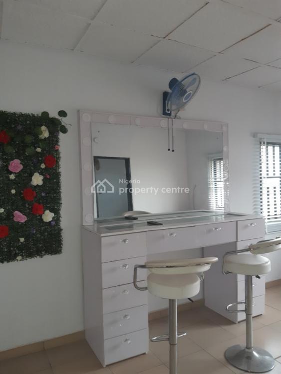 Furnished Make Up Studio, Ogidan, Sangotedo, Ajah, Lagos, Plaza / Complex / Mall for Rent