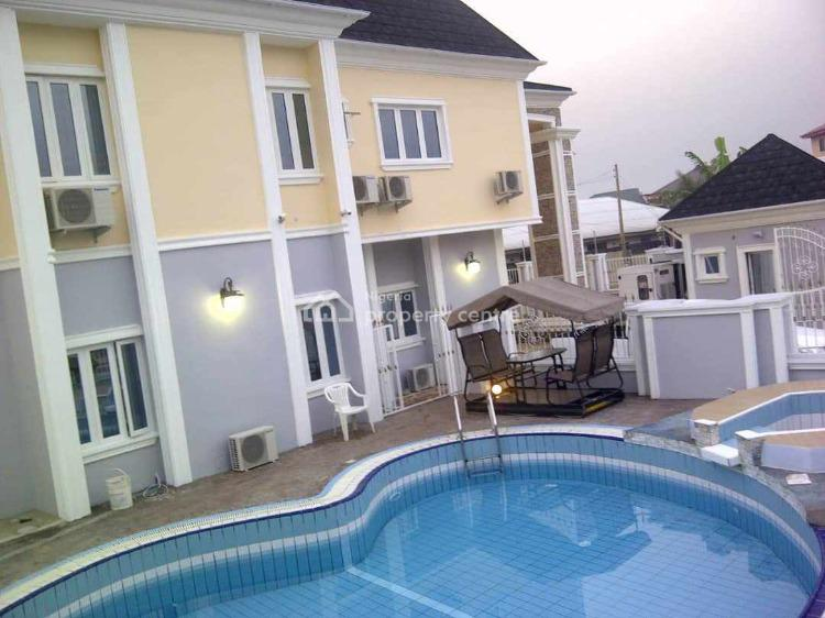 Luxury Detached 6 Bedroom Duplex with Swimming Pool and 2 Bedroom Bq., in a Calm and Secured Neighbourhood, Eliozu, Port Harcourt, Rivers, Detached Duplex for Sale