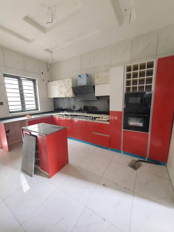 Beautifully Finished 4 Bedroom Fully Detached Duplex with a Room Bq, Chevron, Lekki, Lagos, Detached Duplex for Sale