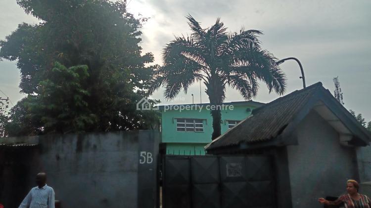 5 Bedroom Detached House with Bq, Obanle Aro Crescent Off Cocker Road, Ilupeju, Lagos, Detached Duplex for Sale