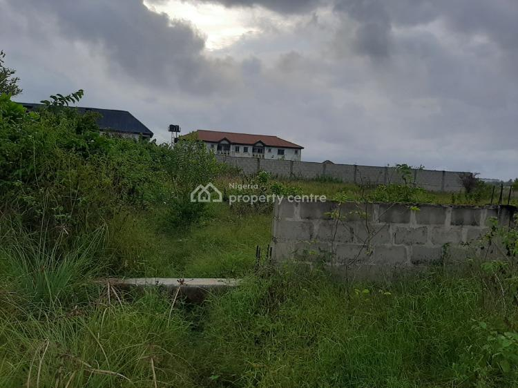 Two Plots of Corner Piece with Raft Fenced, Behind Cooplag Estate Via Orchid Road, Lafiaji, Lekki, Lagos, Residential Land for Sale