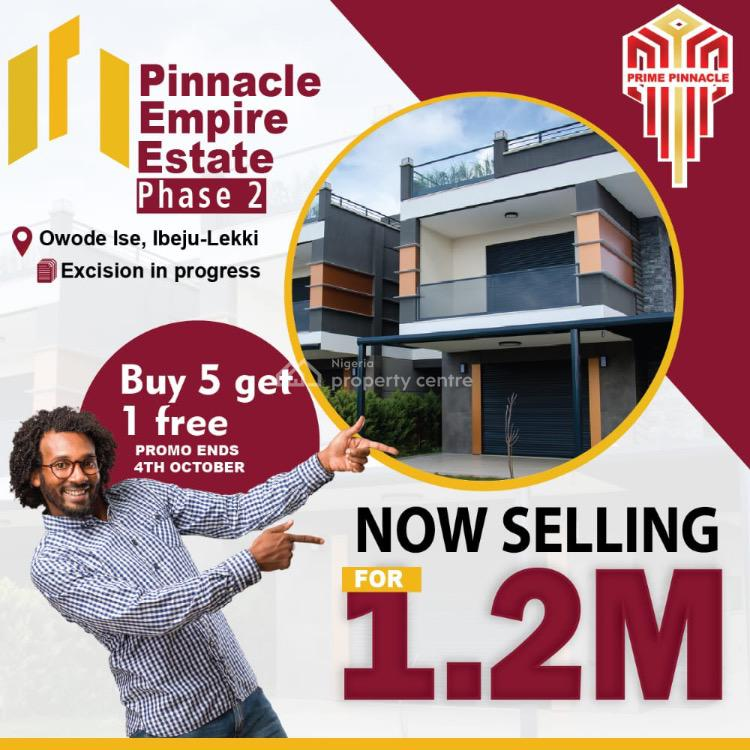 Land, Pinnacle Empire Estate Phase 2, Owode Ise, Ibeju Lekki, Lagos, Mixed-use Land for Sale