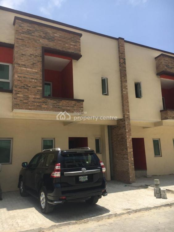 3 Bedrooms Double Terraced Twin Duplex with a Bq, By Nike Art Gallery, Ikate Elegushi, Lekki, Lagos, Detached Duplex for Sale