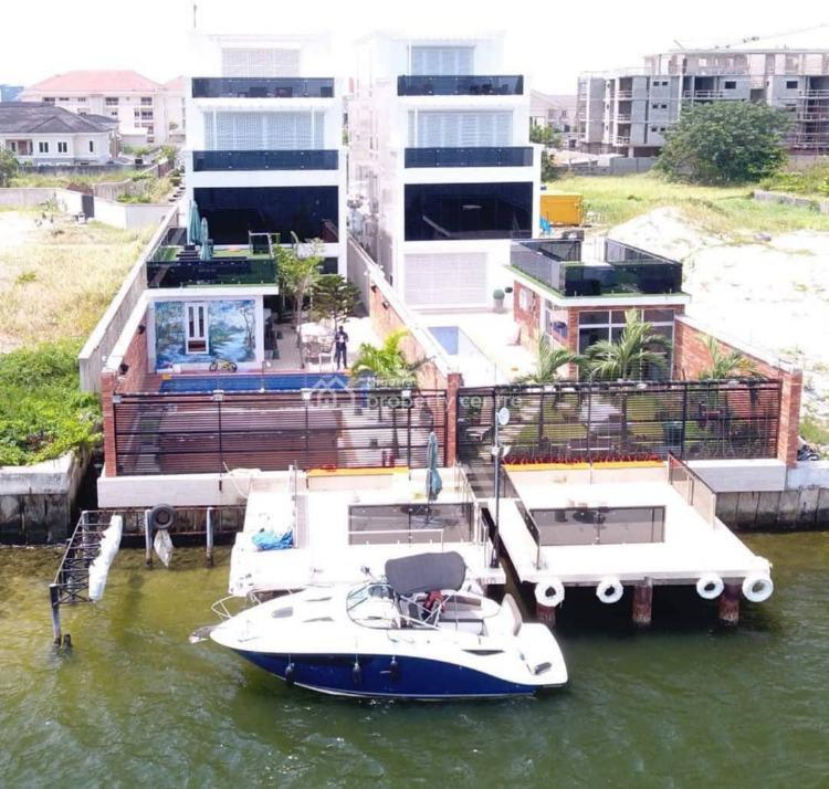 Palatial 6 Bedroom Waterfront Duplex, Banana Island, Ikoyi, Lagos, Detached Duplex for Sale