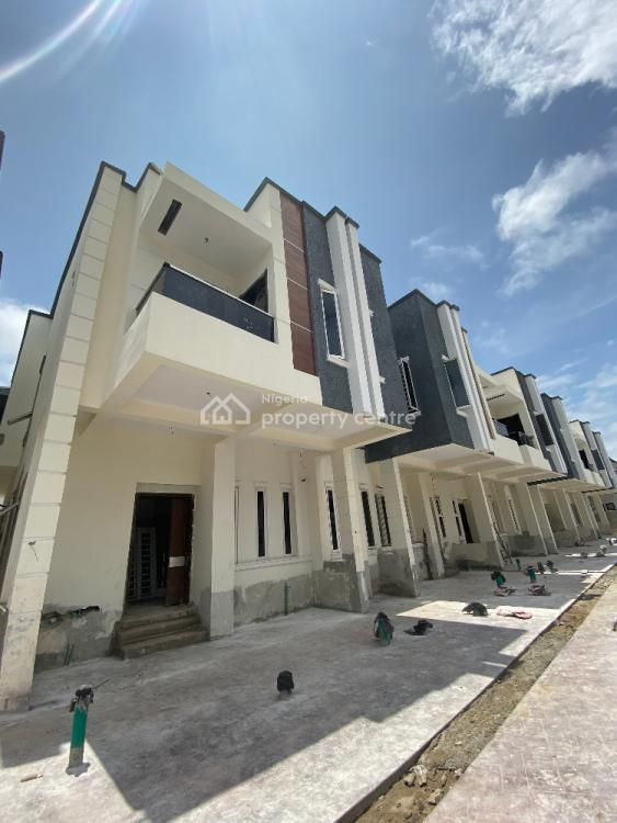 Newly Built 4 Bedroom Terrace Duplex with Bq, By Lekki 2nd Toll Gate, Lekki, Lagos, Terraced Bungalow for Sale
