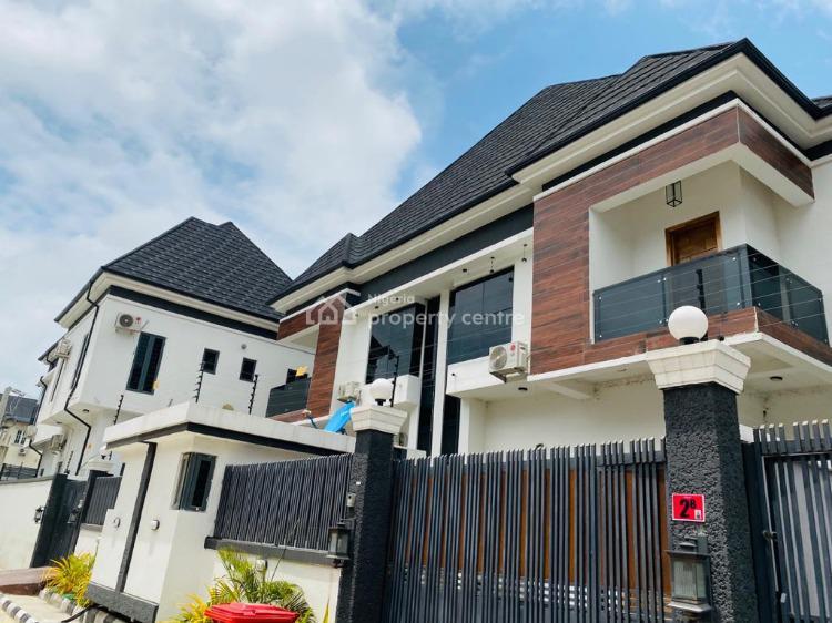 4 Bedroom Fully Detached Duplex with a Room Bq, Chevron Alternative, Lekki Phase 1, Lekki, Lagos, Semi-detached Duplex for Rent