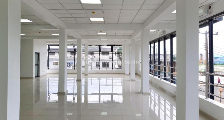 800sqm Office Complex on 3 Floors on Corner Piece. Fully Funished, Bode Thomas, Surulere, Lagos, Office Space for Sale