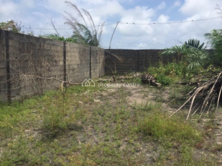 Fenced 12 Plots of Dry Land on a Corner Piece, Oribanwa, Ibeju Lekki, Lagos, Mixed-use Land for Sale
