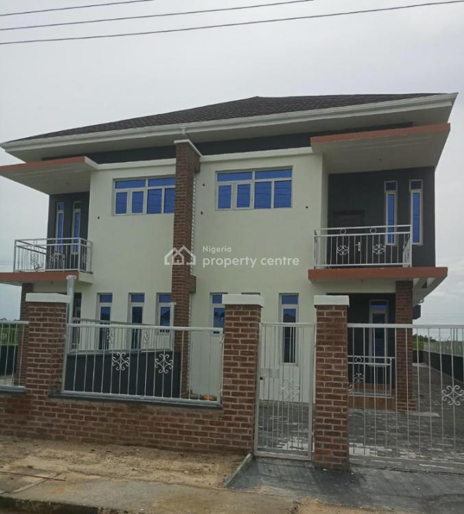 4 Bedroom Semi Detached Duplex with Bq, Sangotedo, Lekki, Lagos, Semi-detached Duplex for Sale