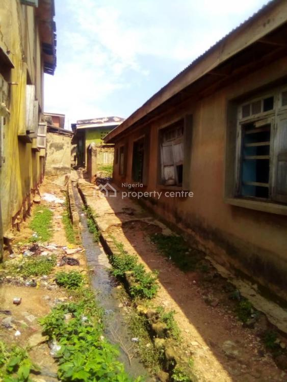 Tenement Bungalow of 8 Rooms, Close to Ajetumobi Street, Agbowo, Ibadan, Oyo, House for Sale