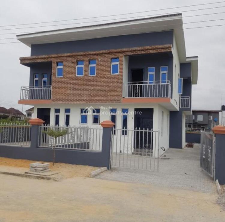 Tastefully 3 Bedrooms Semi Detached Duplex and Bq, Amity Estate, Sangotedo, Ajah, Lagos, Semi-detached Duplex for Sale