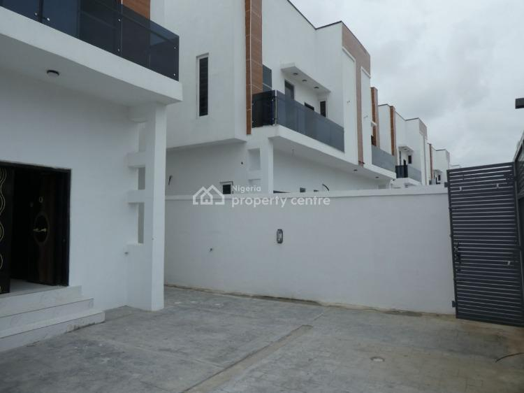 Fully Serviced 4 Bedroom Semi-detached House with Bq, After Chevron and Before Vgc, Off Lekki Expressway, Lekki Expressway, Lekki, Lagos, Semi-detached Duplex for Sale