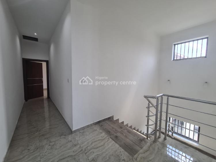 Newly Built and Nicely Finished 5 Bedrooms Terraced House with Bq, Lekki Phase 1, Lekki, Lagos, Terraced Duplex for Rent