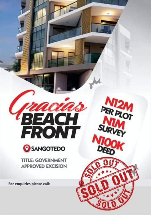 Government Approved Excision, Sangotedo, Ajah, Lagos, Residential Land for Sale