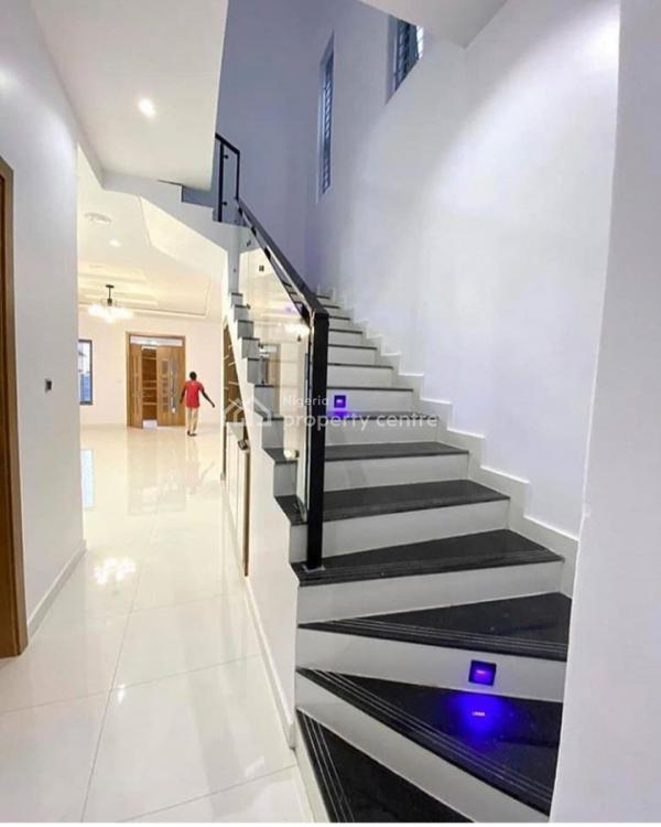 Contemporary Brand New 5 Bedroom Fully Detached Duplex with a Room Bq, Ikate, Lekki, Lagos, Detached Duplex for Sale