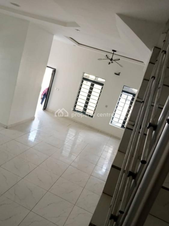Luxury 4 Bedroom with Room Ensuite  and a Bq at Give Away Price, Chevron Area, Lekki, Lagos, Semi-detached Duplex for Sale