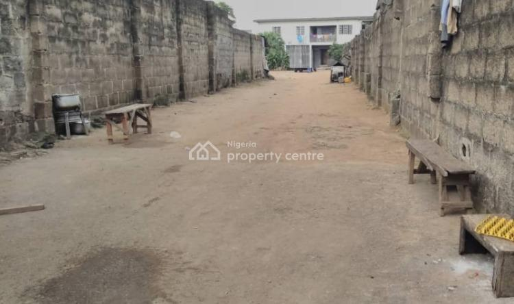 Land Measuring 2,420sqm with Structure on It, Ojota, Lagos, Mixed-use Land for Sale