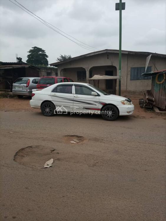 1000sqm Land with a Building on It Directly on The Road, Oluwo Nla Close to Redeem Church, Basorun, Ibadan, Oyo, Mixed-use Land for Sale