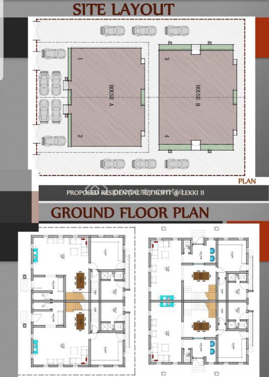 Magnificent 4 Units of 4 Bedroom Penthouse Semi Detached Duplex., Majesty Court Off Mobil Road Lekki Scheme 2, Lekki Phase 2, Lekki, Lagos, Semi-detached Duplex for Sale