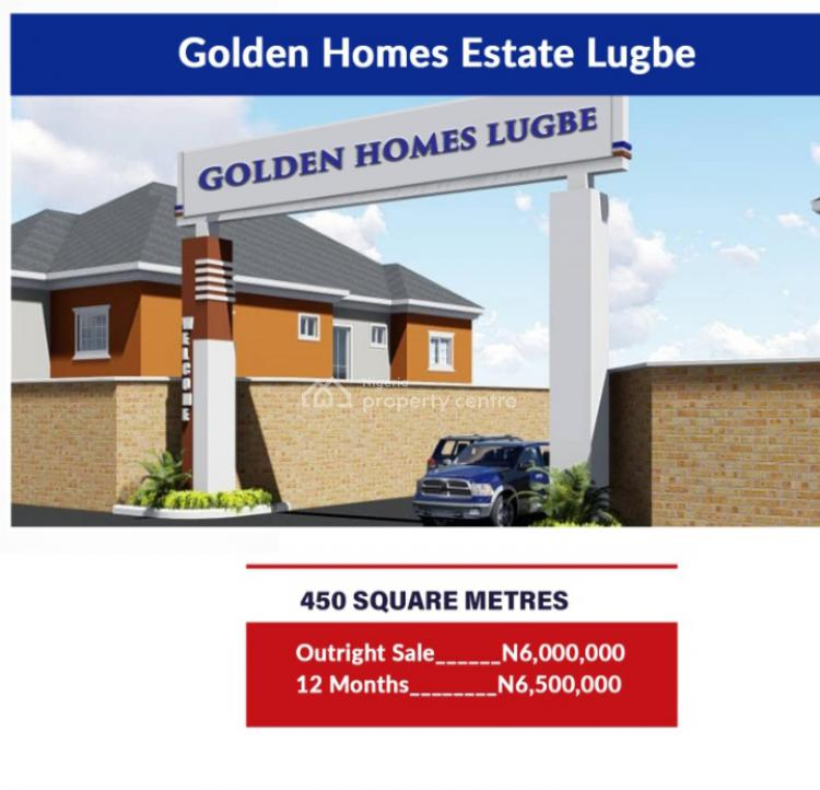 Dry Land, Golden Homes  Estate, Opposite Woods and Frame,  After Dunamis Church, Lugbe District, Abuja, Residential Land for Sale