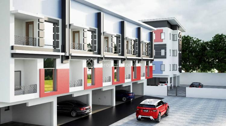 4 Bedrooms Luxury Terrace Duplex with a Room Bq Off Plan, Lekki, Lagos, House for Sale