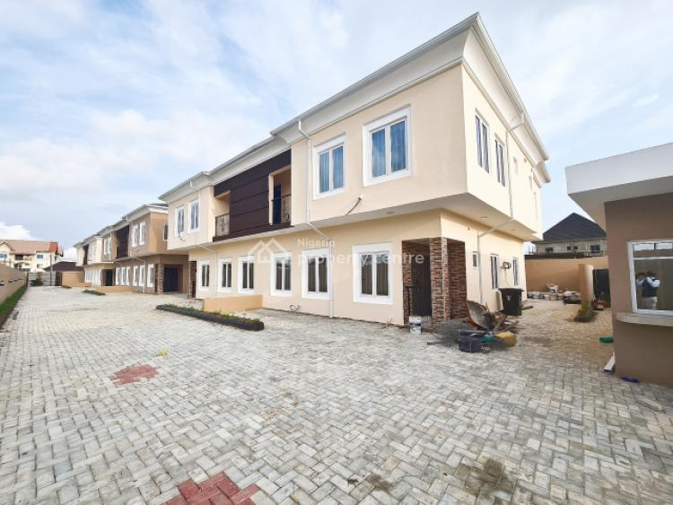 Tastefully Finished and Serviced 4 Bedroom Semi-detached House with Bq, Atlantic View Estate, Lekki, Lagos, Semi-detached Duplex for Sale
