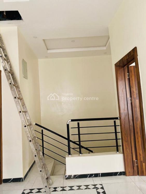 4 Bedroom Semi Detached Duplex with B/q, Osapa, Lekki, Lagos, Semi-detached Duplex for Rent