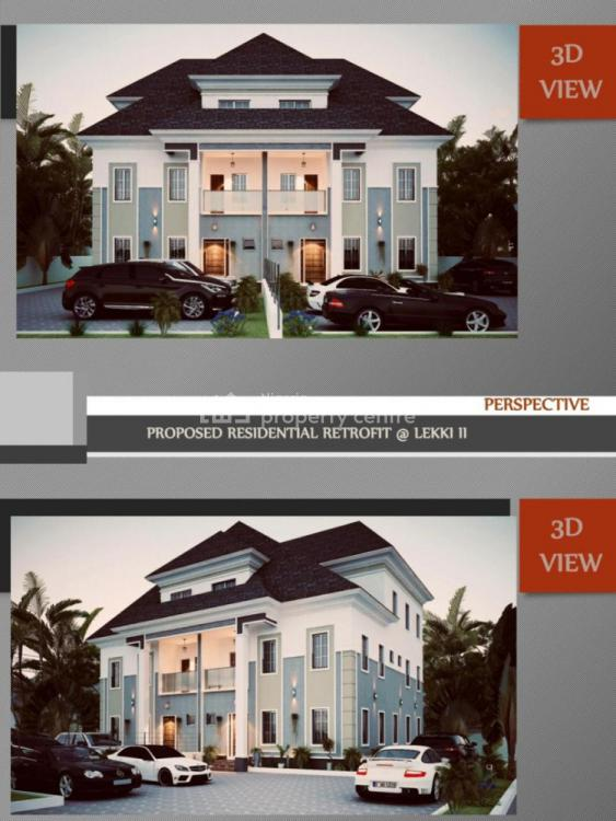 Elegant 4 Bedroom Penthouse Semi Detached Duplex with Bq, Majesty Court, Dr Babatunde Goodluck Road, Lekki Phase 2, Lekki, Lagos, Semi-detached Duplex for Sale